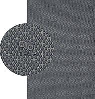 ГТО, GTO Italia (Китай) original, р. 570*380*1.8мм, цв. тем. серый - резина подметочная/профилактика листовая