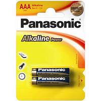 Елемент живлення (батарейка) Panasonic ALKALINE POWER LR3 (AAA)LR03REB/2BP