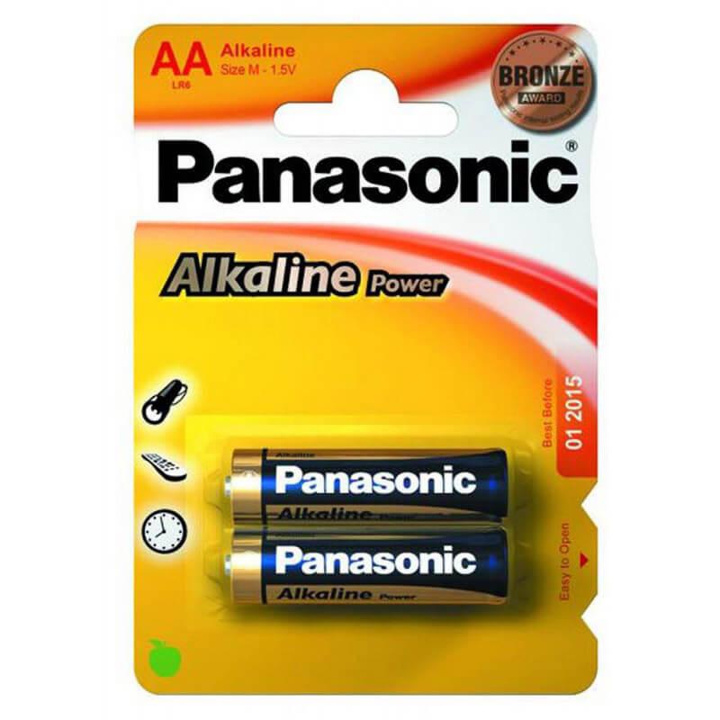 Елемент живлення (батарейка) Panasonic ALKALINE POWER LR6 (AA)LR6REB/2BP