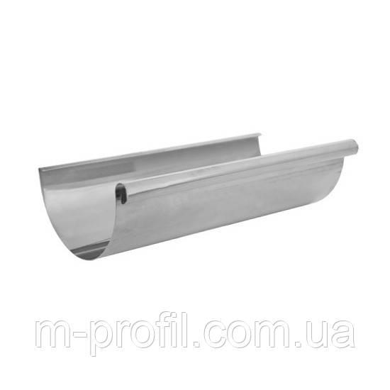 Желоб водосточный 110мм/2м RAL цинк 0,4