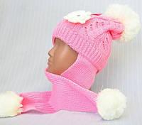 Модная теплая шапка-ушанка