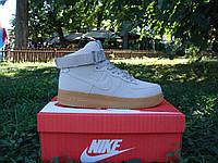 Мужские кроссовки Nike Air Force 1 High White