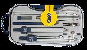 Готовальня COLLEGE 9 предметів, темно-синій ZB.5314CL-03