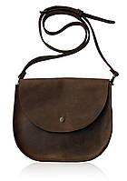 Bag brown Saddle, сумка-седло, коричневая