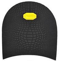 Набойка резиновая мужская BISSELL, art.RB 61B, цв. чёрный (желтый лого)