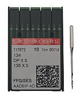 Иголка к швейной машинке, GROZ-BECKERT, 134, 717672 №90/14