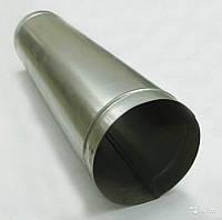Труба водостічна Ø100*1000мм, цинк 0,35, фото 1