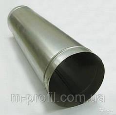 Труба водосточная Ø100*1000мм, система 110мм, цинк 0,35