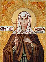 Икона из янтаря Святая Анастасия Римская