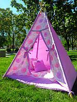"""Детский игровой домик, вигвам, палатка, шатер, шалаш """"Одуванчики"""""""