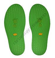 Резиновая подошва/след для обуви BISSELL, т.3,65 мм, art.111, цв. зелёный