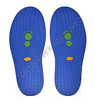 Резиновая подошва/след для обуви BISSELL, т.3,65 мм, art.111, цв. синий