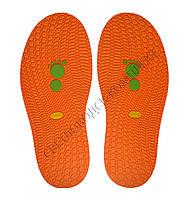 Резиновая подошва/след для обуви BISSELL, т.3,65 мм, art.111, цв. морковный