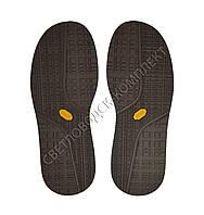 Резиновая подошва/след для обуви BISSELL, т.4,25 мм, цв. КОРИЧНЕВЫЙ, art.115