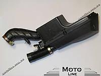 """Воздушный фильтр в сборе на скутер 4т GY6 139QMB 12"""" колесо длинная нога GXmotor"""