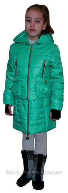 Стильная демисезонная куртка-трансформер для девочки