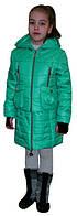 Стильная демисезонная куртка-трансформер для девочки, фото 1