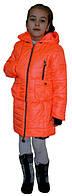 Яркая демисезонная куртка-трансформер для девочки, фото 1