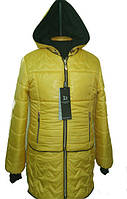 Модная детская демисезонная куртка с сарафаном