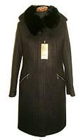 Модное женское зимнее пальто с мехом, фото 1