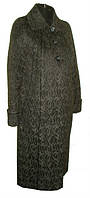 Красивое женское демисезонное пальто увеличенных размеров