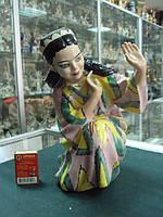 фарфоровая фигурка Полонное зхк узбечка
