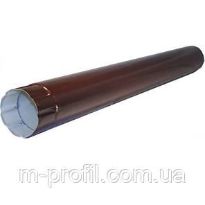Труба водосточная Ø100*1250мм, RAL 8017 система 110мм, фото 2