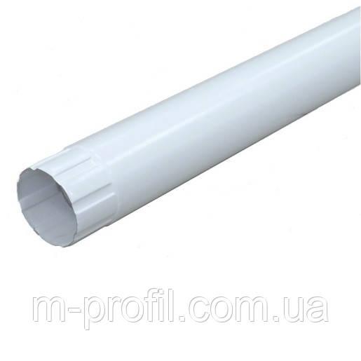 Труба водосточная Ø100*1250мм, RAL 9003 система 110мм
