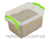 Песок кинетический Wabafun в контейнере для хранения 1 кг