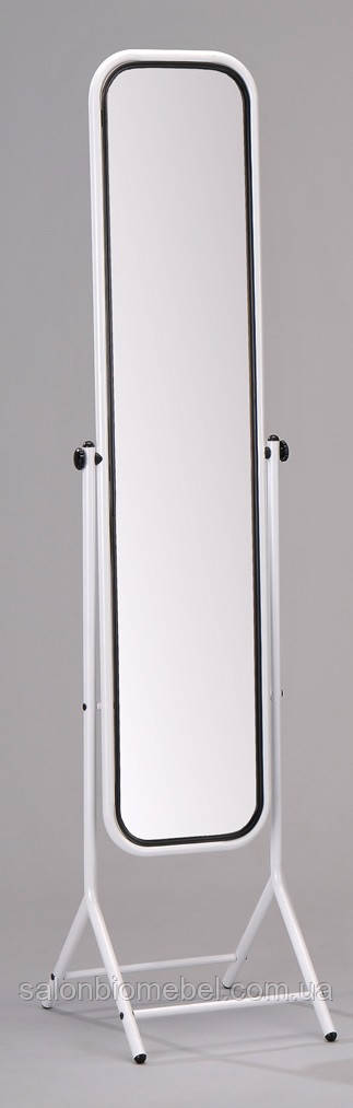 Зеркало напольное W-66 белое