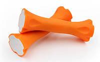Гантели для фитнеса в ABS оболочке  (2шт по 0,7 кг)
