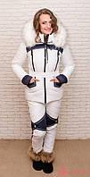 Женский зимний термо костюм Airos, двухцветные брюки