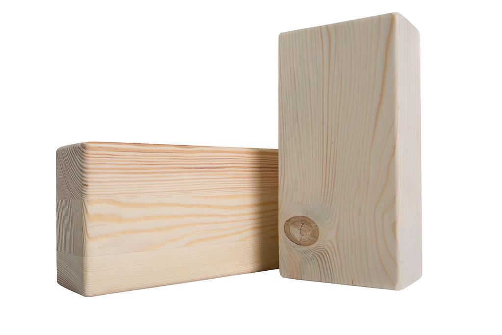 Блок для йоги деревянный