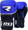 Боксерские перчатки RDX Boxing Glove T9 Blue 12oz