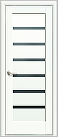 Двери межкомнатные Новый стиль Линнея BLK (белый матовый)