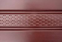 Панель софит коричневая с перфорацией, без перфорации 2700*305мм площ.0.81м2