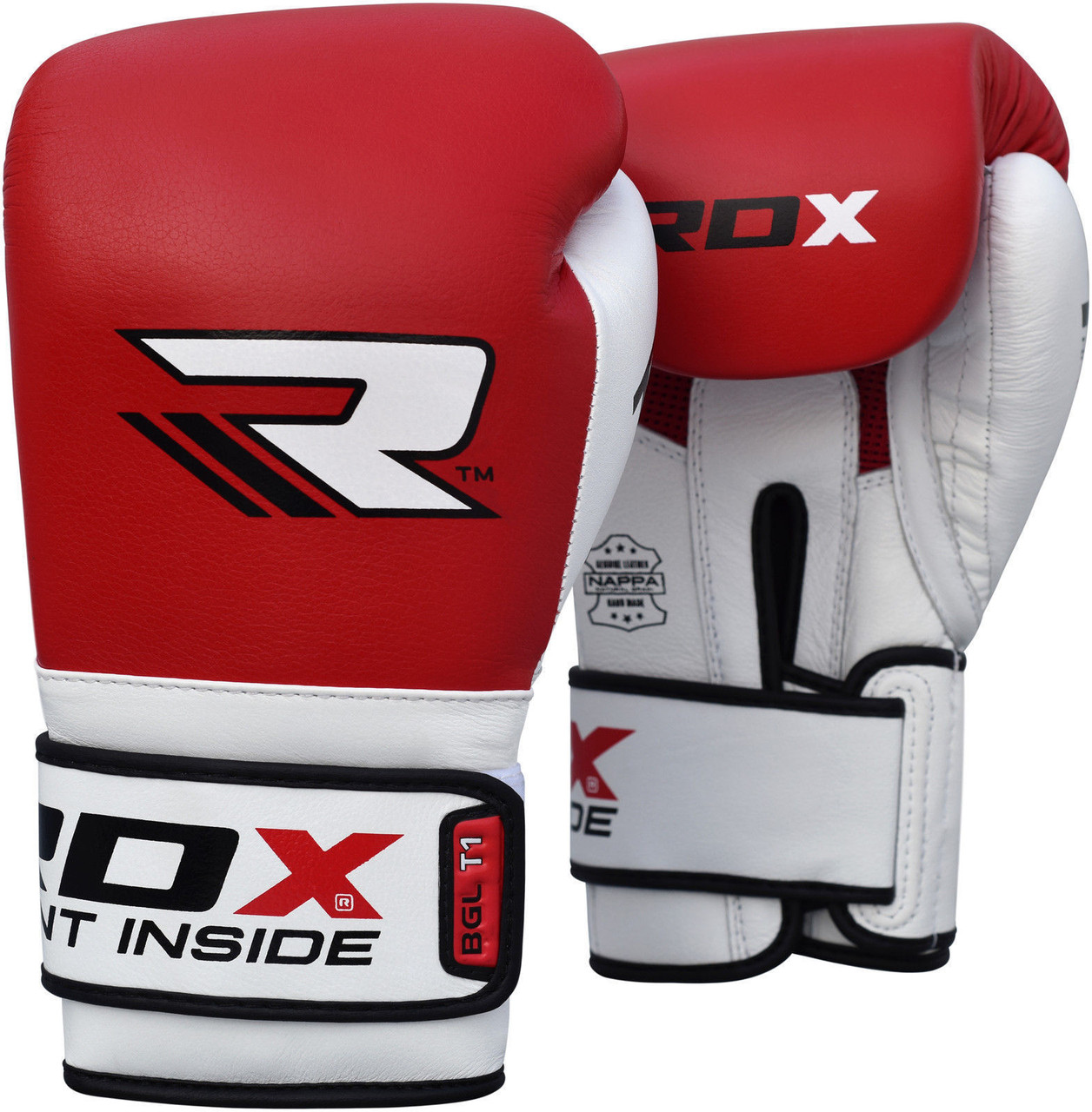 Боксерские перчатки RDX Boxing Glove BGL-T1 Gel Pro red 10oz