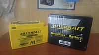 Аккумулятор для мотоцикла гелевый MOTOBATT  AGM  8.6Ah  190A  размер 151 x 87 x 95  мм   MBTZ10S