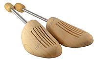 Формодержатель / колодка для обуви на спирали деревянный 45-46