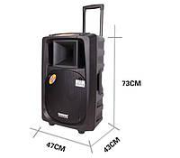 Акустика на акумуляторе МЕГА DP- 2398