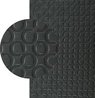 EVA, ЭВА микропора, р. 550*850*3 мм, цв. черный - резина подметочная/профилактика листовая