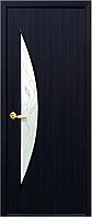 Двери межкомнатные Новый стиль Луна венге 3d ПО+Р3