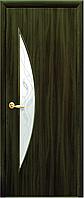 Двери межкомнатные Новый стиль Луна Кедр ПО+Р3