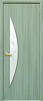 Двери межкомнатные Новый стиль Луна ясень патина ПО+Р3