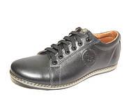 Кожаные туфли-кроссовки