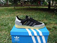 Мужские кроссовки Adidas Spezial Black/Gray