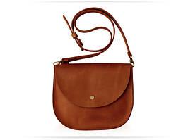 Bag ocher Saddle, сумка-седло, охра