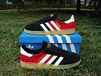 Мужские кроссовки Adidas Spezial Black/Red