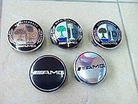 Колпачки в диски AMG