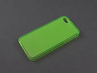Чехол TPU для Apple iPhone SE 5 5S зеленый